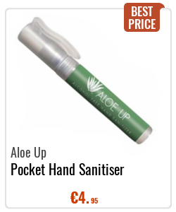 Aloe Up Pocket Hand Sanitiser