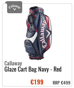 Callaway Glaze Cart Bag Navy - Red