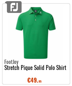 FootJoy Gents Stretch Pique Solid Polo Shirt