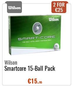 Wilson Smartcore 15 pack golf balls