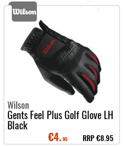 Wilson Gents Feel Plus Golf Glove