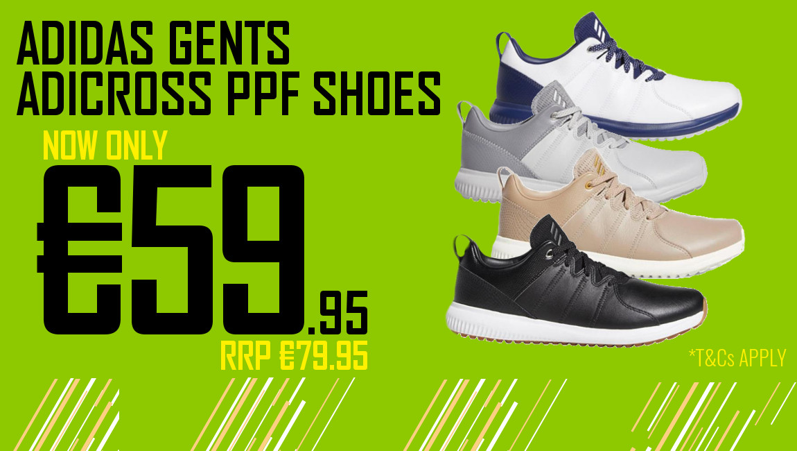 Adidas adicross PPF Golf Shoes now Only €59.95