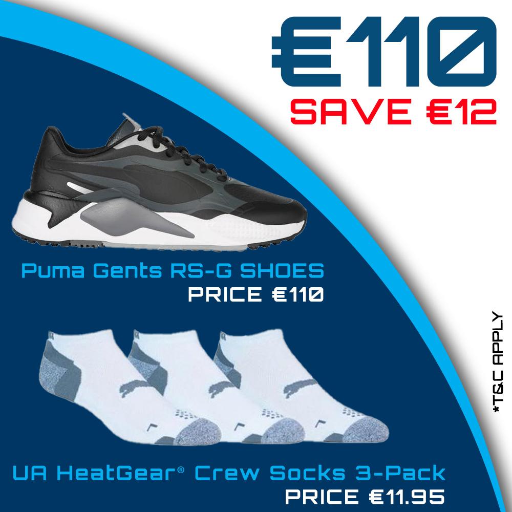 Bundle Offer - Puma - RS-G Shoes & Pounce Low Cut 3-Pair Pack for €110