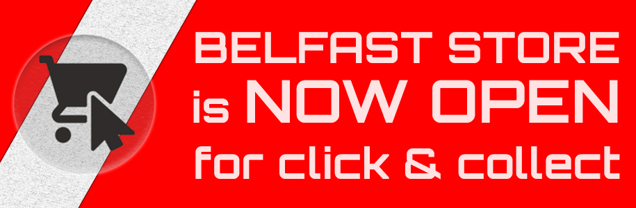 BELFAST STORE is NOW OPEN for click & collect