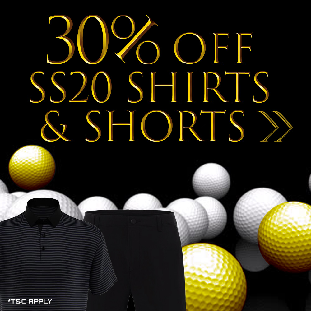 Black Friday Offers - 30% Off All SS2020 Shirts and Shorts