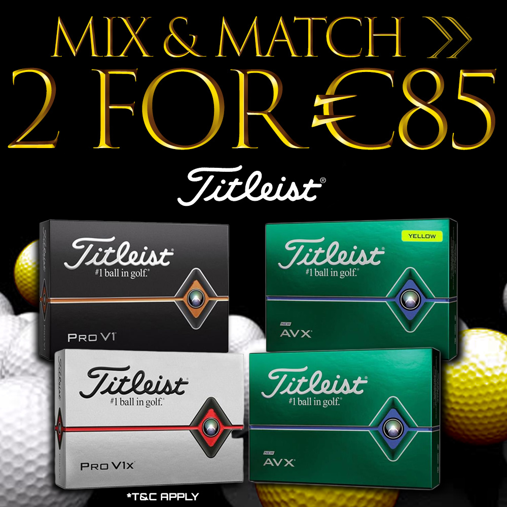Black Friday Bundle Offer - Titleist Balls Offer
