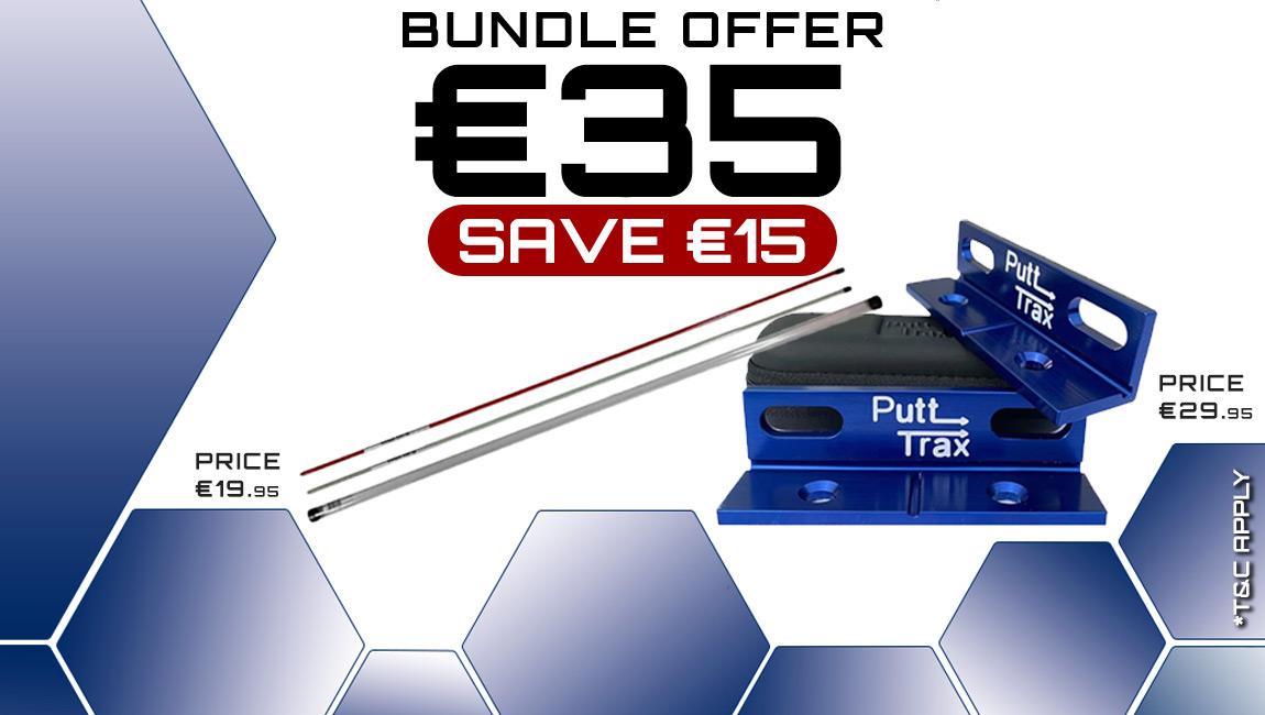 Bundle Offer - Legend Alignment Stick & Putt Trax Tool €35