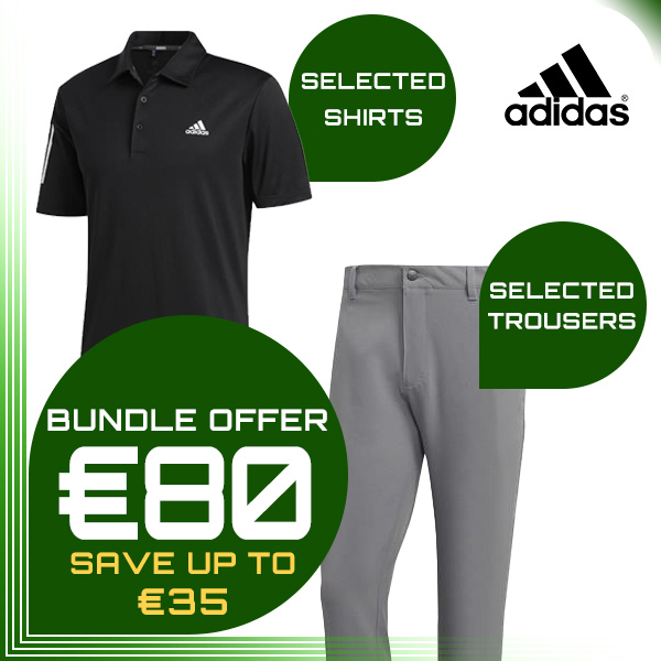 Bundle Offer - Adidas: Trousers + Shirt for €80