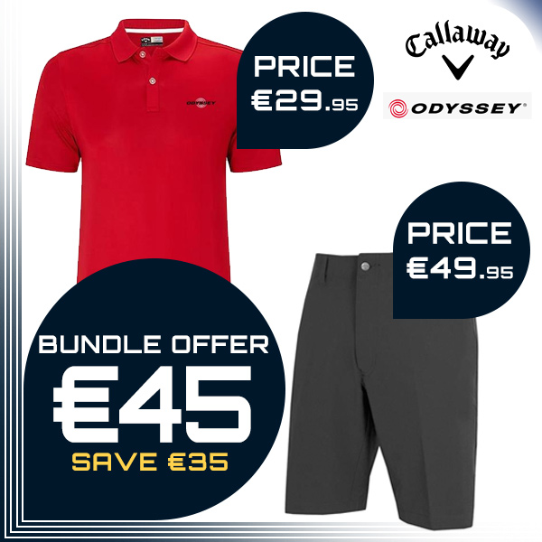 Bundle Offer - Callaway Shorts + Callaway Odyssey Polo for €45