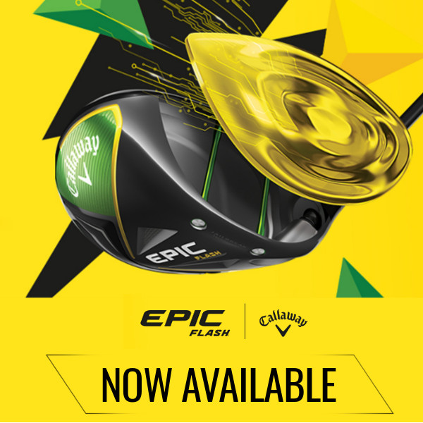 New callaway Epic flash range
