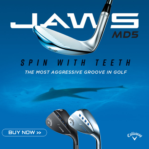 New Callaway MD Jaws Wedge