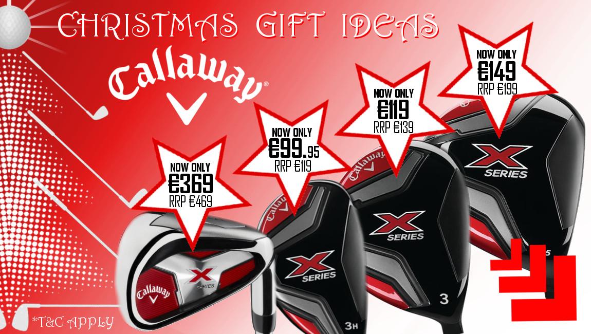 Callaway X Series Range offers