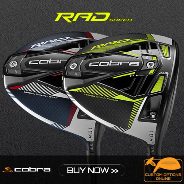 New Cobra RadSpeed Clubs