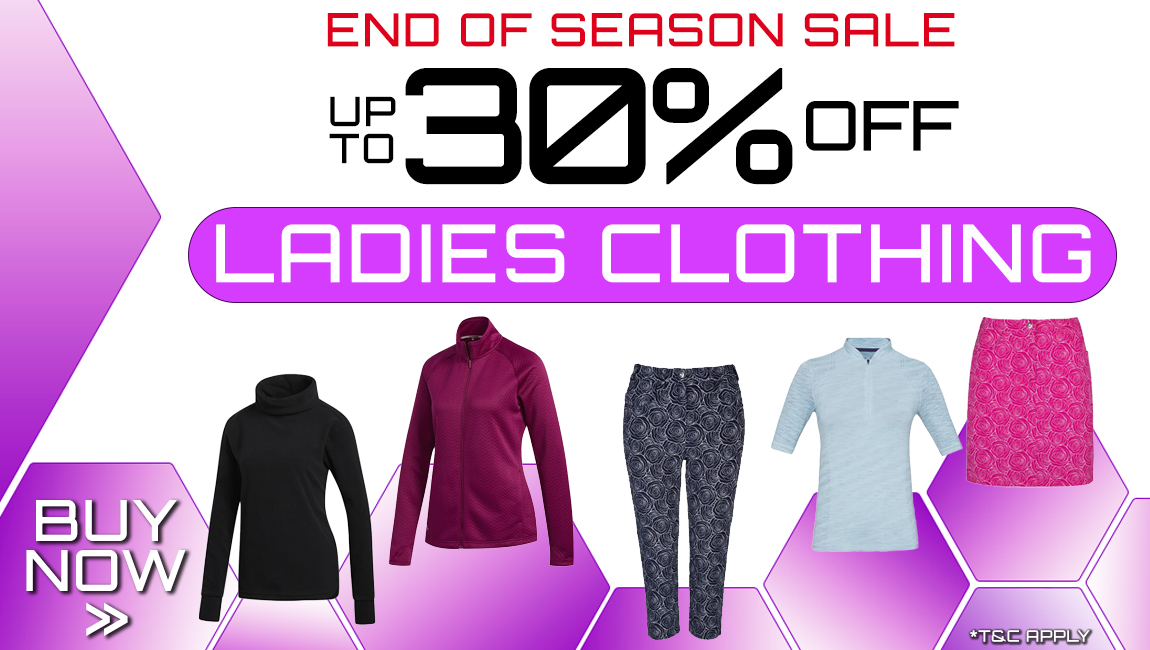 End of Season Clothing Sale - Up to 30% of Ladies clothing