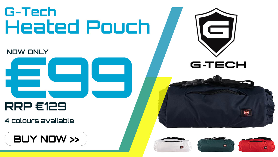 G-Tech Heated Pouch now in stock