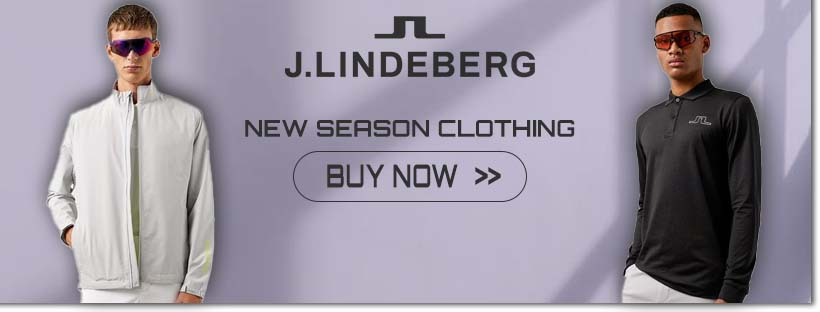 New Season J.Lindeberg Clothing - buy now