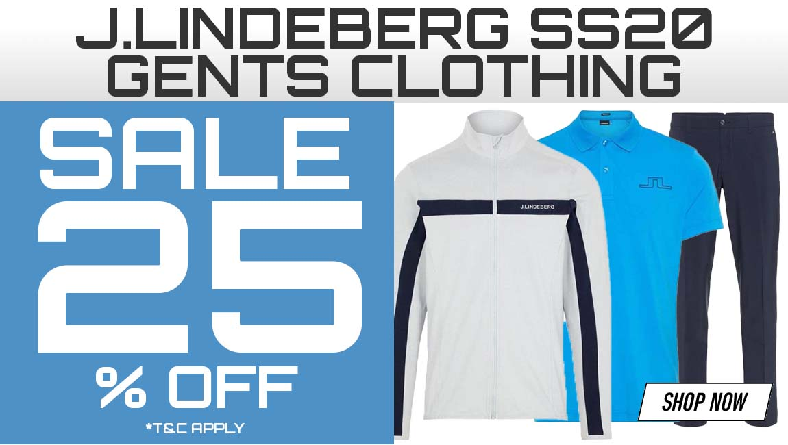 25% Off J.Lindeberg Gents Clothing
