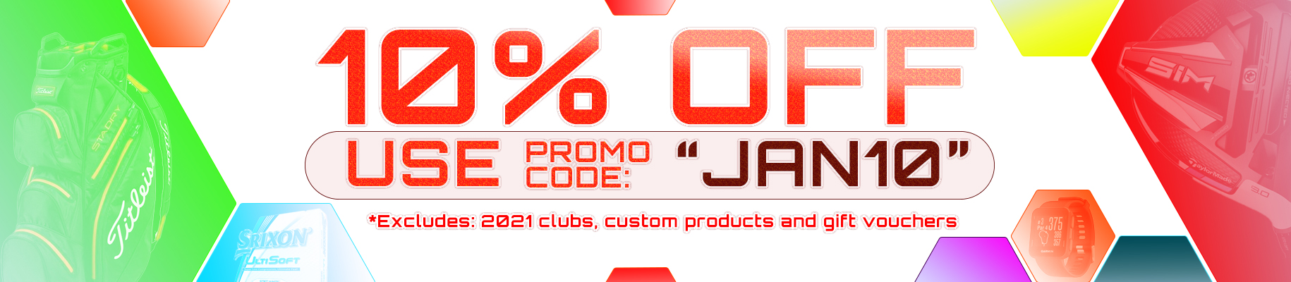 10% off Everything - promo code: Jan10