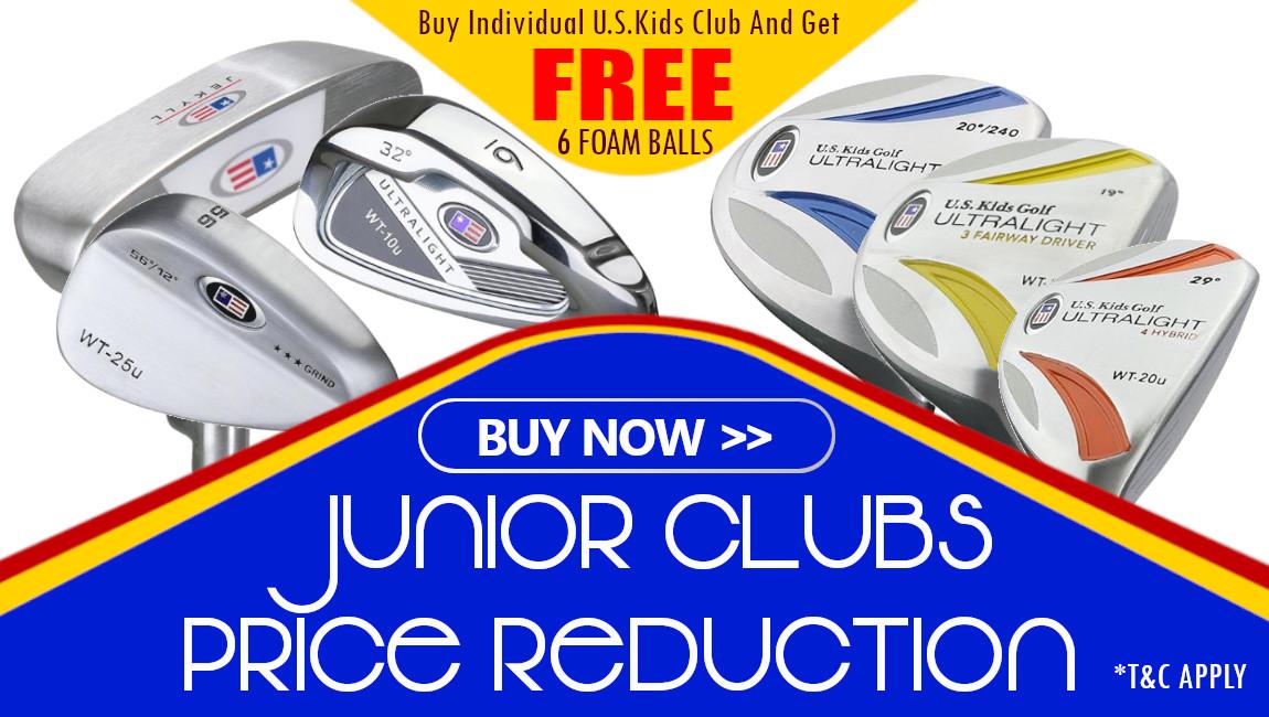 Junior Clubs Price Reduction