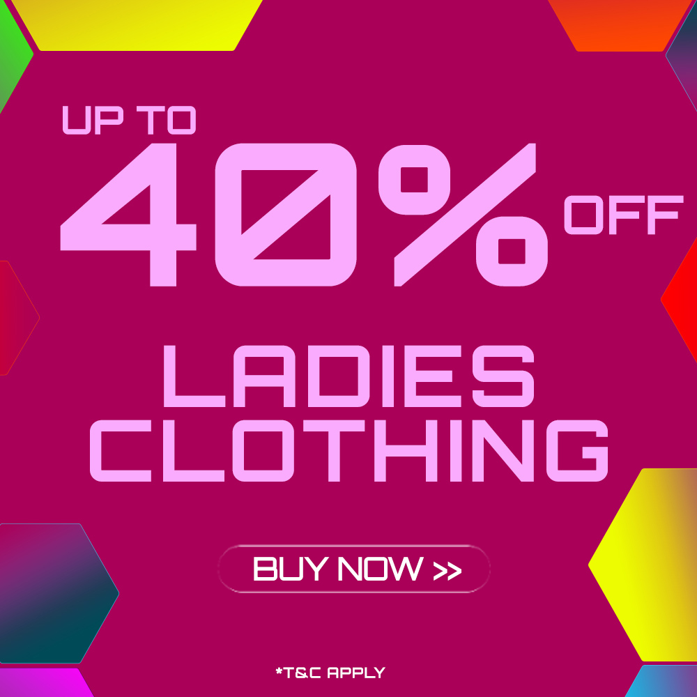 End of Season Clothing Sale - Up to 40% off selected Ladies Clothing