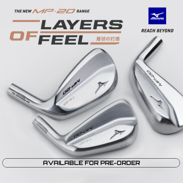 New Mizuno Irons availablke for Pre-Order and custom fitting