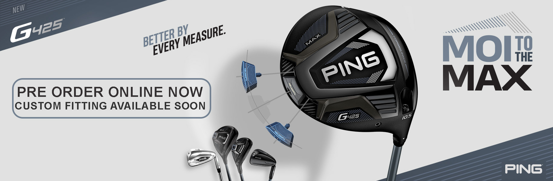 New Ping G425 Available for pre-order now