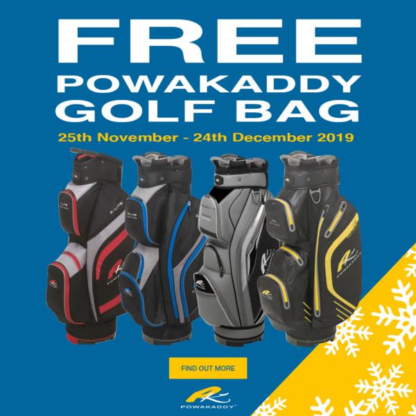 Free Powakaddy Golf Bag for Christmas