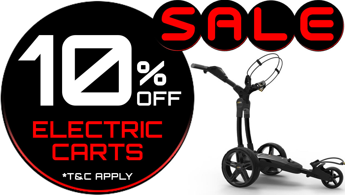 10% Off Electric carts