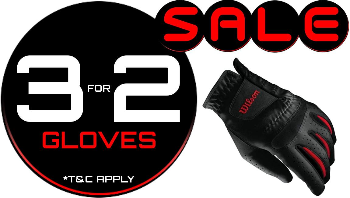 All gloves 3 for 2