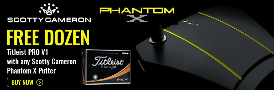 Scotty Cameron Phantom X Putters Offer