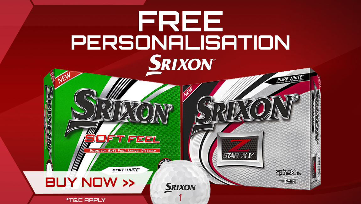 Srixon Christmas FREE Ball Personalisation