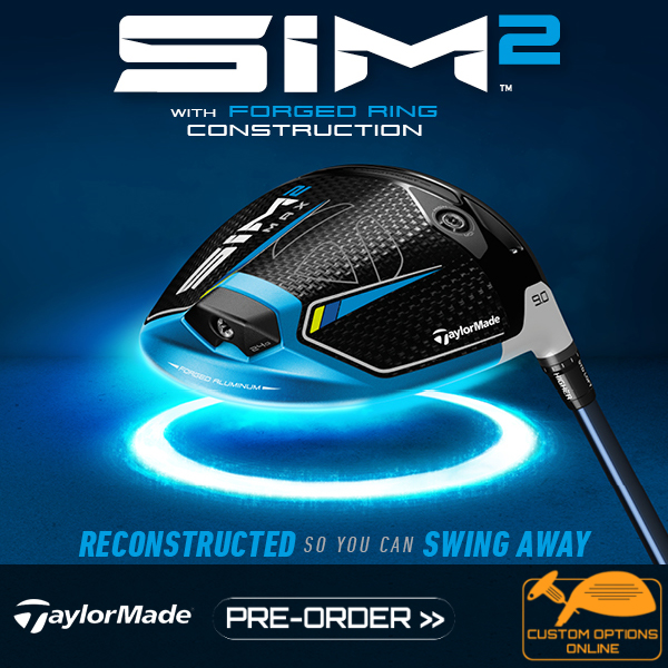 New TaylorMade Sim 2 clubs Range