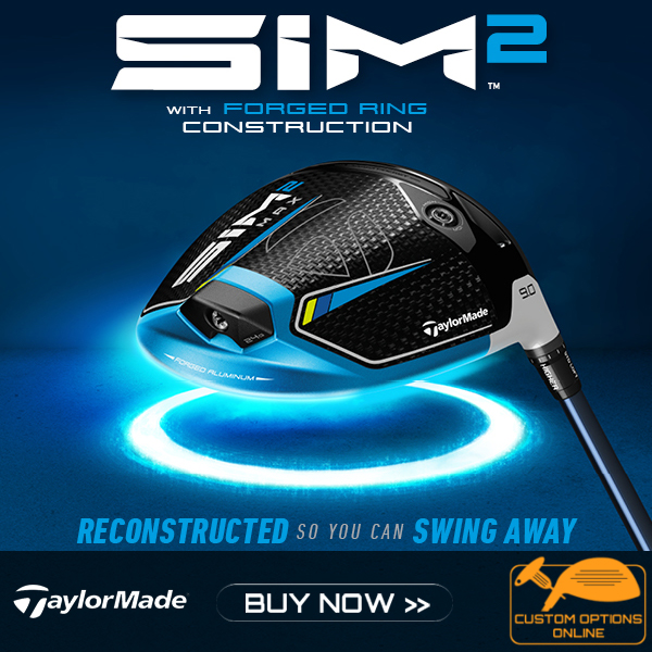 New TaylorMade Sim 2 clubs Range