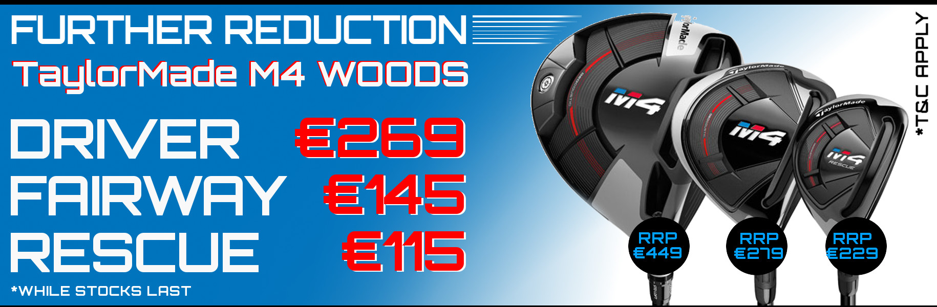 TaylorMade M4 Further price reduction