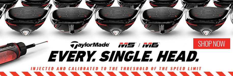 TaylorMade M5 and M6 Range