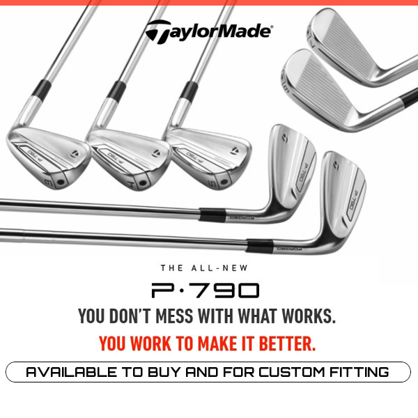 New TaylorMade P790 Irons now available