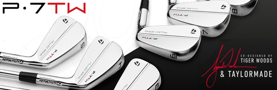TaylorMade P7TW Irons now on McGuirks Golf