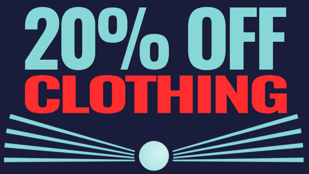 The Open Championship Offers - 20% Off clothing