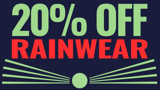 The Open Championship Offers - 20% Off Rainwear