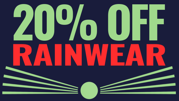 The Open Championship Offers - 20% Off Rainwear