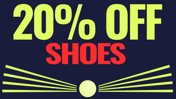 The Open Championship Offers - 20% Off shoes
