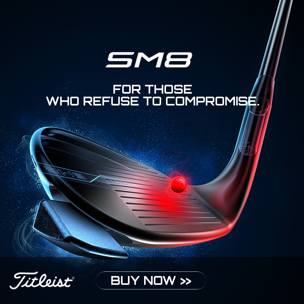 New Titleist SM8 Wedge available for Pre-Order