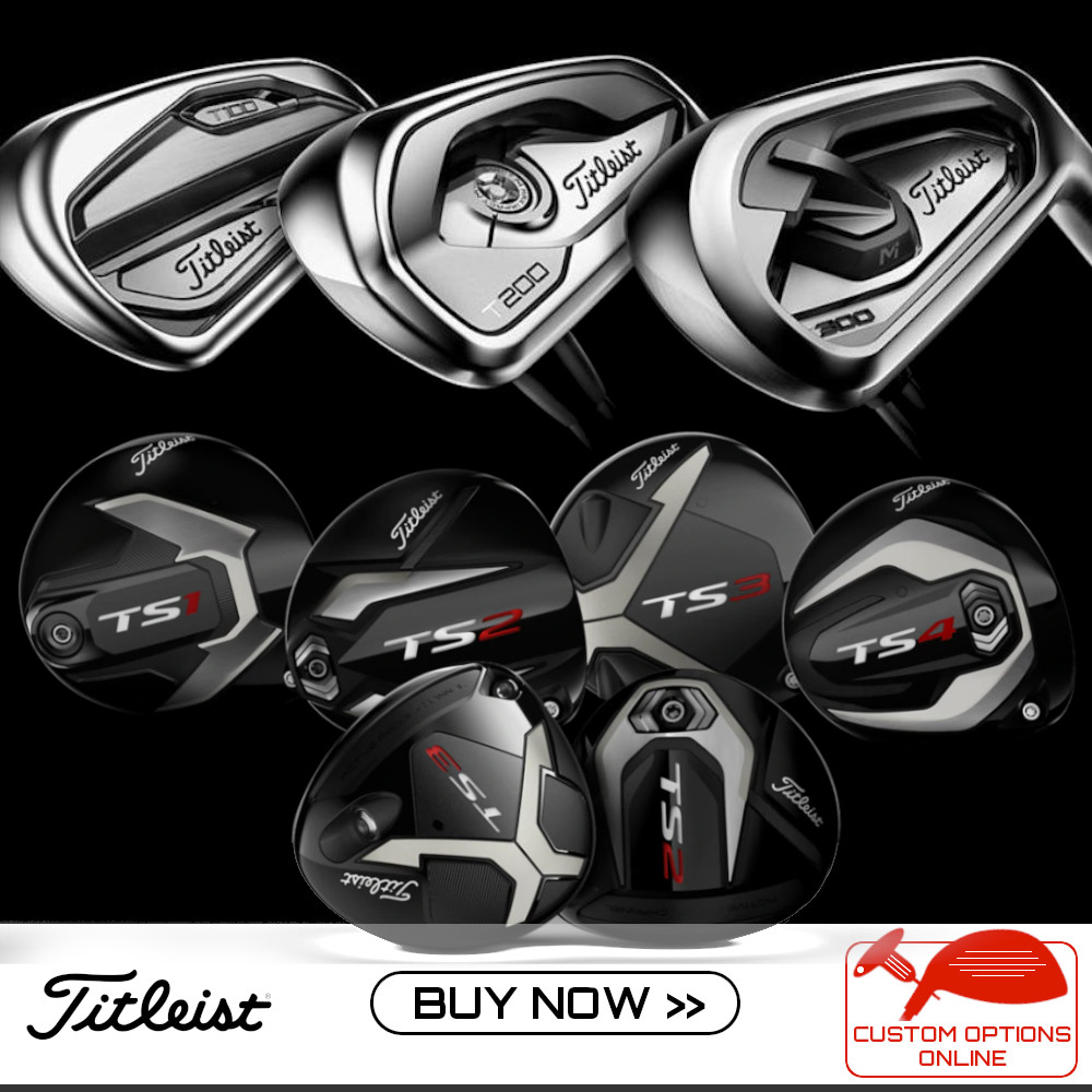 Titleist Current Clubs - Custom Options