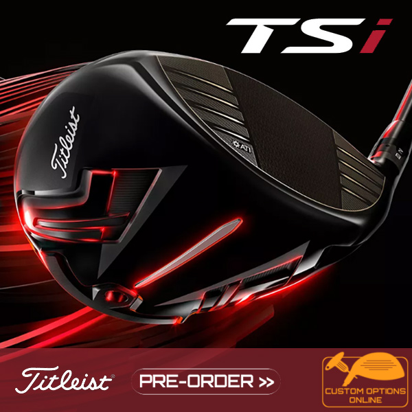 Titleist TSi Woods - pre-order now