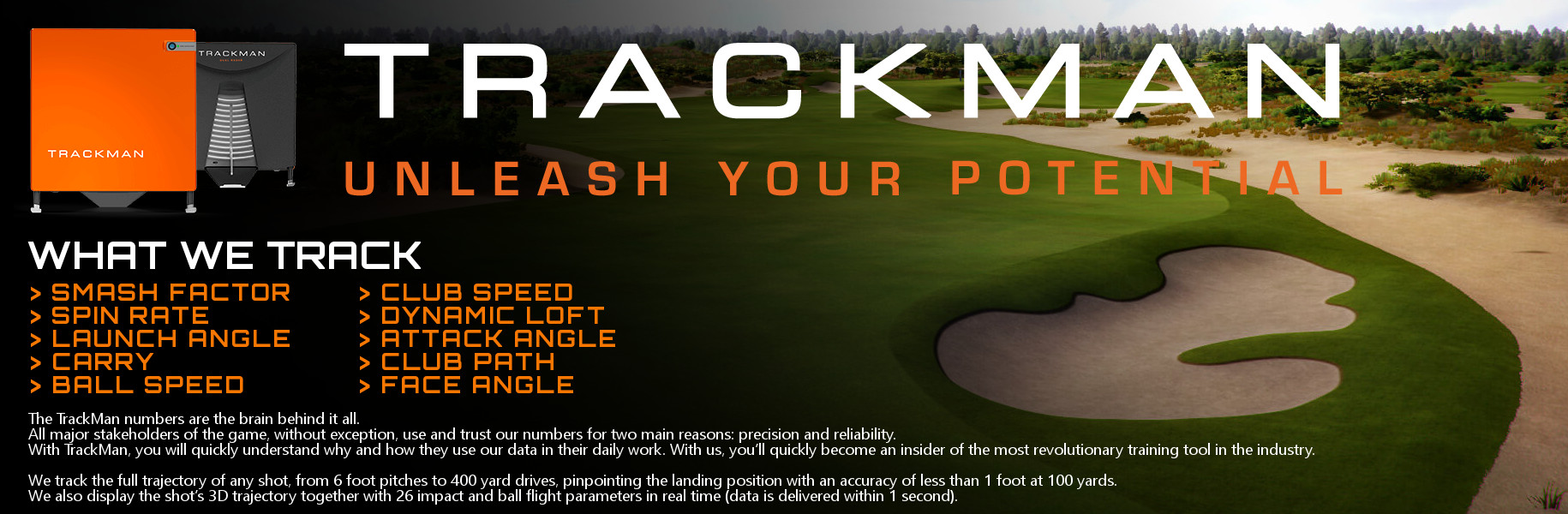 Trackman Custom Fitting