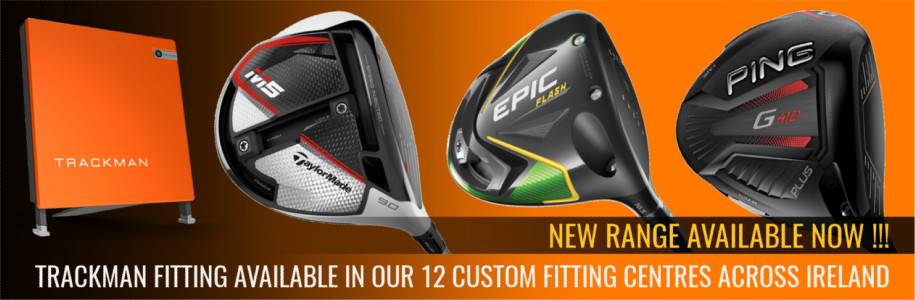 TrackMan custom Fitting of new 2019 Range of clubs