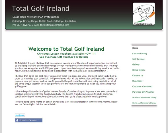 Total Golf Ireland