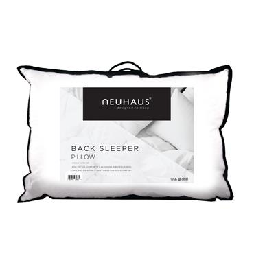 Neuhaus Back Sleeper Pillow