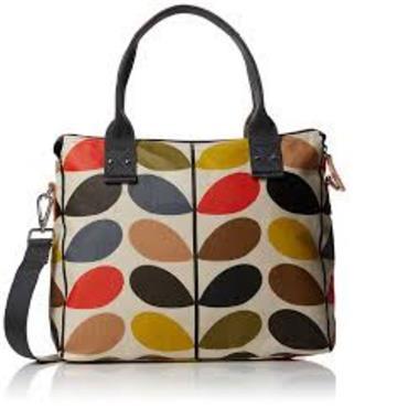 Orla Kiely Classic Messenger Bag Multi Stem