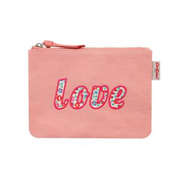 Cath Kidston Ashbourne Ditsy Love Pouch